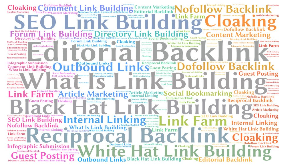 what are the types of link building