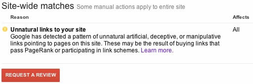google link penalty
