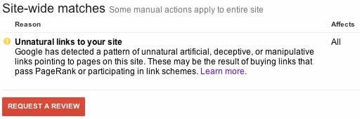 google link penalty